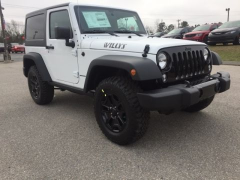 NEW 2018 JEEP WRANGLER JK WILLYS WHEELER W 4X4