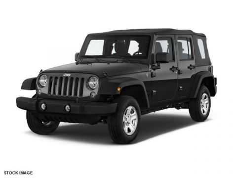 NEW 2017 JEEP WRANGLER UNLIMITED SPORT S 4X4